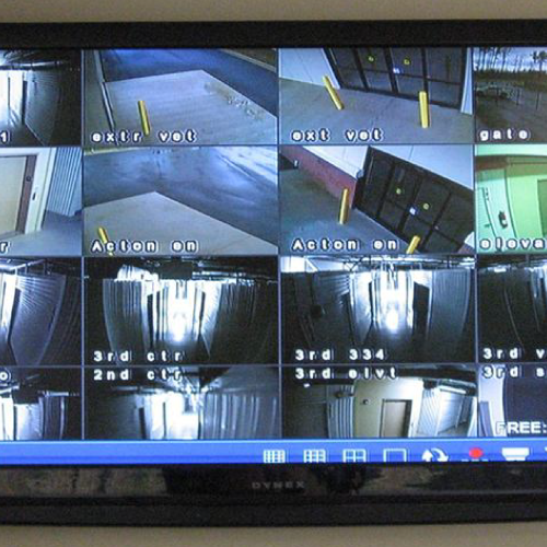 24-Hour Video Surveillance